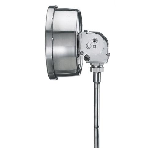 Gasdruckthermometer / analog / Eintauchfühler / Edelstahl