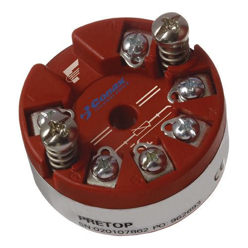 Temperaturmessumformer / am Sondenkopf / RTD / 2-Leiter / analog