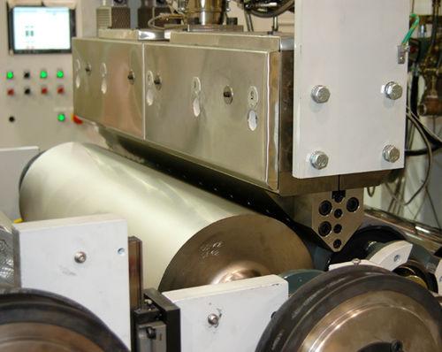 Beschichtungs-Extrusionsanlage / für PVdC / Mehrschicht / für medizinische Verpackung