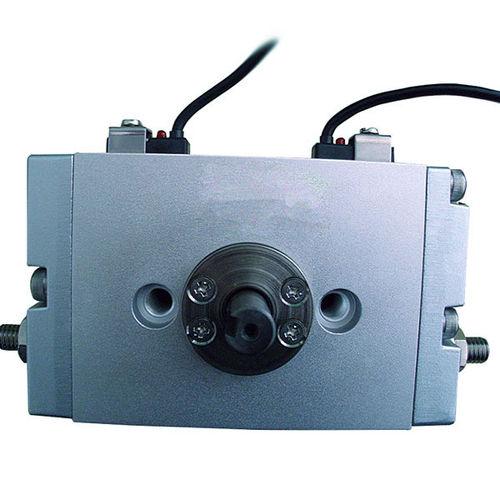 Drehzylinder / pneumatisch / doppeltwirkend / für Endlageneinstellung
