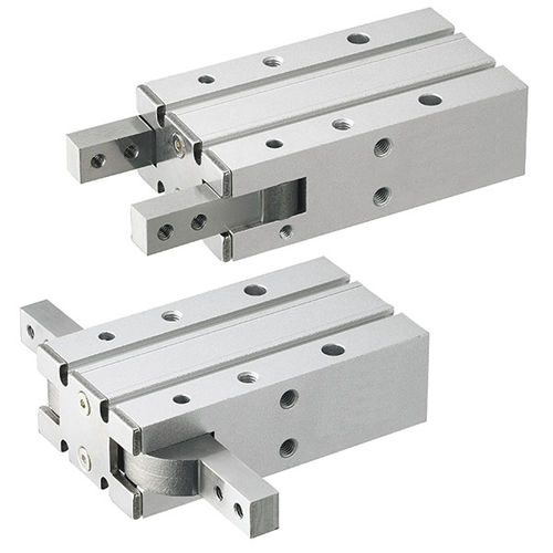 Pneumatikgreifer / 180°-Winkel / 2 Backen / kompakt