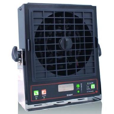 Ionenblas-Gebläse / einstufig / Ionisator mit Leistungsdetektor