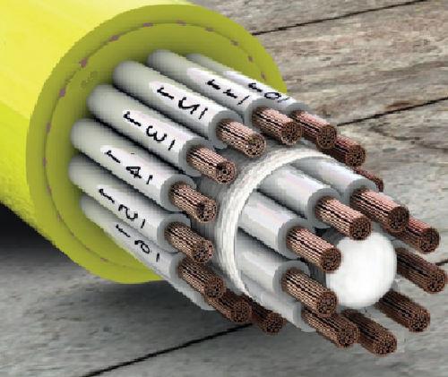 DIN-Stromkabel / tordierbar / UL/CSA / für Kabeltrommel
