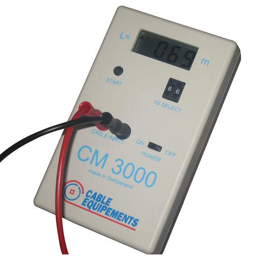 Kabellängenmessgerät / elektronisch / für Kabel / digital