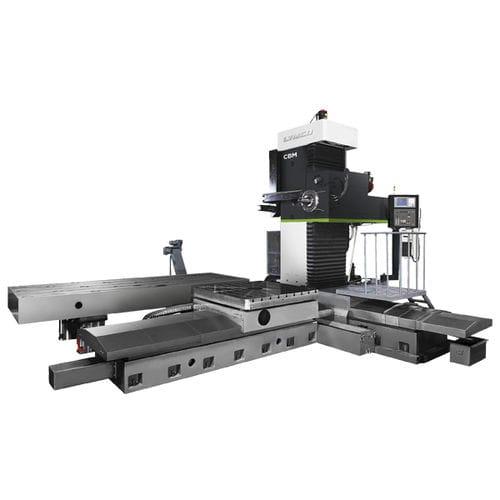 Bohr- und Fräszentrum / CNC / horizontal / für große Werkstücke / für Schwerzerspanung