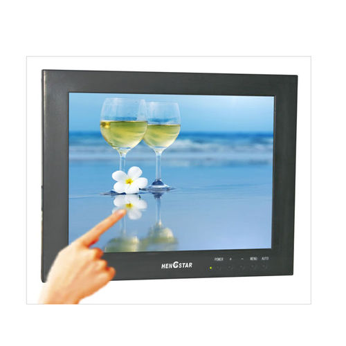 LCD-Monitor / mit resisitivem Touchscreen / 24