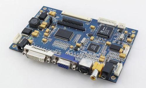 LCD-Kontrollkarte