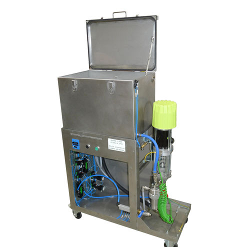 automatische Reinigungsanlage / kompakt / Tauch / mit Spülvorgang