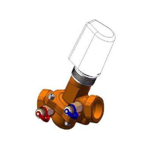 druckunabhängiges Ventil / Membran / elektrisch betrieben / Steuerung
