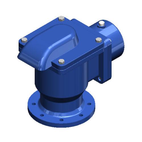 Entlastungsventil für Luft / für Wasserleitungen / Flansch