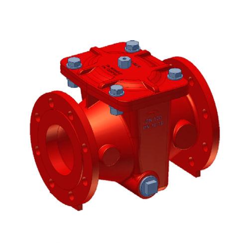 Gusseisenfilter / Wasser / mit Sieb / kompakt