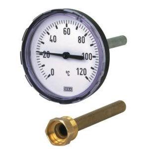 Fühler-Thermometer / analog / Eintauchfühler / zum Einschrauben