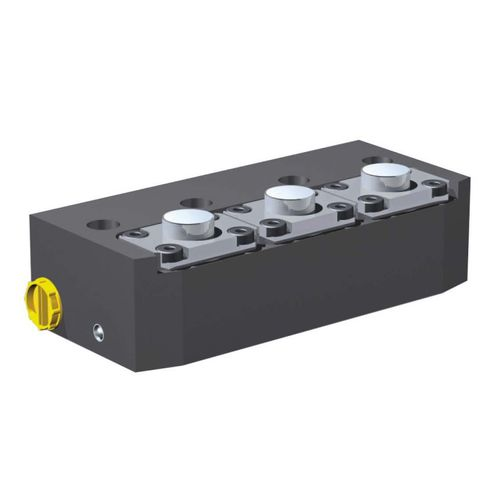 Hydraulischer Zylinder / Doppel / Befestigung PHL SERAPID