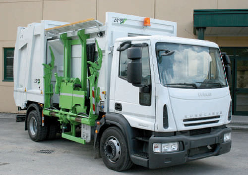 Seitenlader-Müllwagen CL1-N A.M.S. S.p.A. Attrezzature Meccaniche Speciali