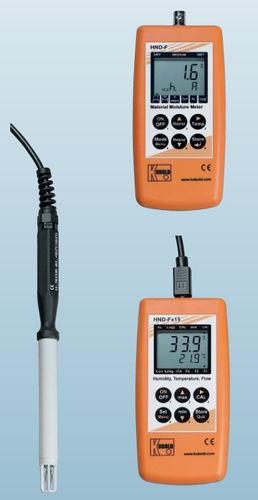 digitales Hygrometer / tragbar / relative Luftfeuchtigkeit / IP65