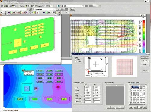 CF Software / für Elektronikbauteile
