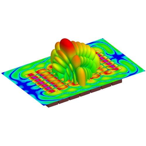 Software / Simulations für elektromagnetische Felder / 3D