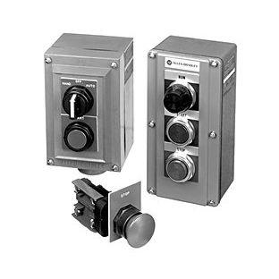 Wahl-Drucktaster / einpolig / gekapselt 800R Allen-Bradley