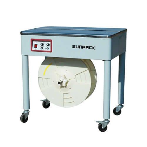 halbautomatische Umreifungsmaschine / für Spulen / hohe Drehzahl / mobil