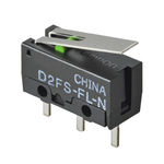 Hebel-Mikroschalter / einpolig / elektromechanisch