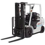 Gabelstapler auf Reifen / LPG / Gas / Sitz
