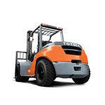 Gabelstapler mit Gegengewicht / LPG / Diesel / Sitz