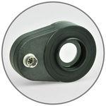 plankonvexe Linse / aus Polymermaterial / Vis / regelbare Stärke