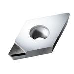 PKD-Schneidplatte / CVD / für harte une brüchige Materialien / mit Spanbrecher