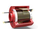 Schleifring zur Leistungs- und Signalübertragung / Kapsel / Gold