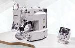 Einzelnadel-Nähmaschine / Knopf / Steppstich / elektronisch