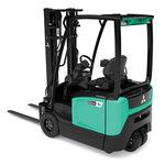 elektrischer Gabelstapler / Sitz / für Lagerhallen / für Materialumschlag