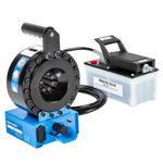 Kabelschuh-Crimpmaschine / halbautomatisch / hydraulisch / kompakt