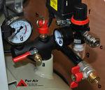 Luftkompressor / mobil / ölfrei / tankmontiert