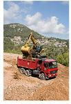 Zwischen-Bagger / auf Reifen / für Baustelle / Diesel