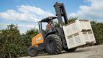 Dieselmotor-Gabelstapler / Sitz / für den Einsatz im Freigelände / 4 Räder