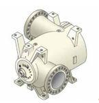 Gaskompressor / stationär / zentrifugal / geschmiert