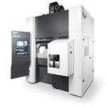 Dreh-Fräszentrum / CNC / Vertikal / zwei Spindeln / kompakt
