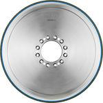 Schleifscheibe für Oberflächenbehandlung / zylinderförmig / CBN Keramikbindemittel / für Kurbelwelle