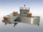 Kartonkontrollwaage / mit Bandförderer  TMG Impianti