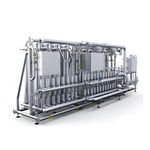 Membran-Ultrafiltrationsanlage / für Wasser / Edelstahl