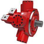 Hydraulik Motor / Radialkolben / variable Hubräume / mit niedriger Drehzahl / mit hohem Drehmoment