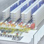 vertikales automatisches -Lagersystem / horizontal / für Lagerhallen