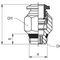 außen-Anschluss / Push-in / gerade / Druckluft