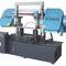 Bandsäge / für Rohre / mit Kühlsystem / mit Rollenförderband CE 350Hx650W GY4235/65 Zhejiang Weiye Sawing Machine Co., Ltd