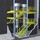 Mehretagen-Stahlbaubühne / für Industrieboden / für Plattformen