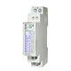 einphasiger Elektrischer Energiezähler / DIN-Schienen / mit integrierter Kommunikation / MID-zertifiziert
