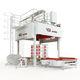 automatische Haubenmaschine / mit Stretchfolie / für die Lebensmittel- und Getränkeindustrie / für Paletten
