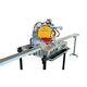 Spaltmaschine für Baustoffe / Tischgerät / tragbar / manuell