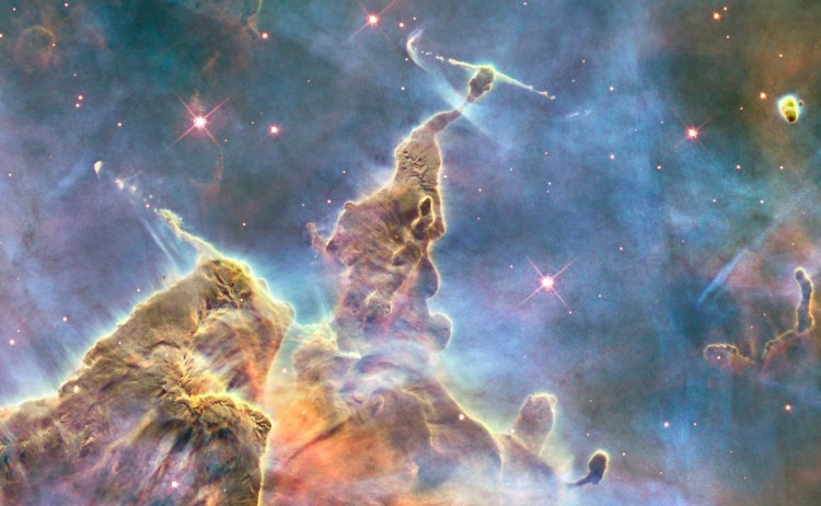 Hubble teleskop feiert 24 jahre in der bahn washington dc usa