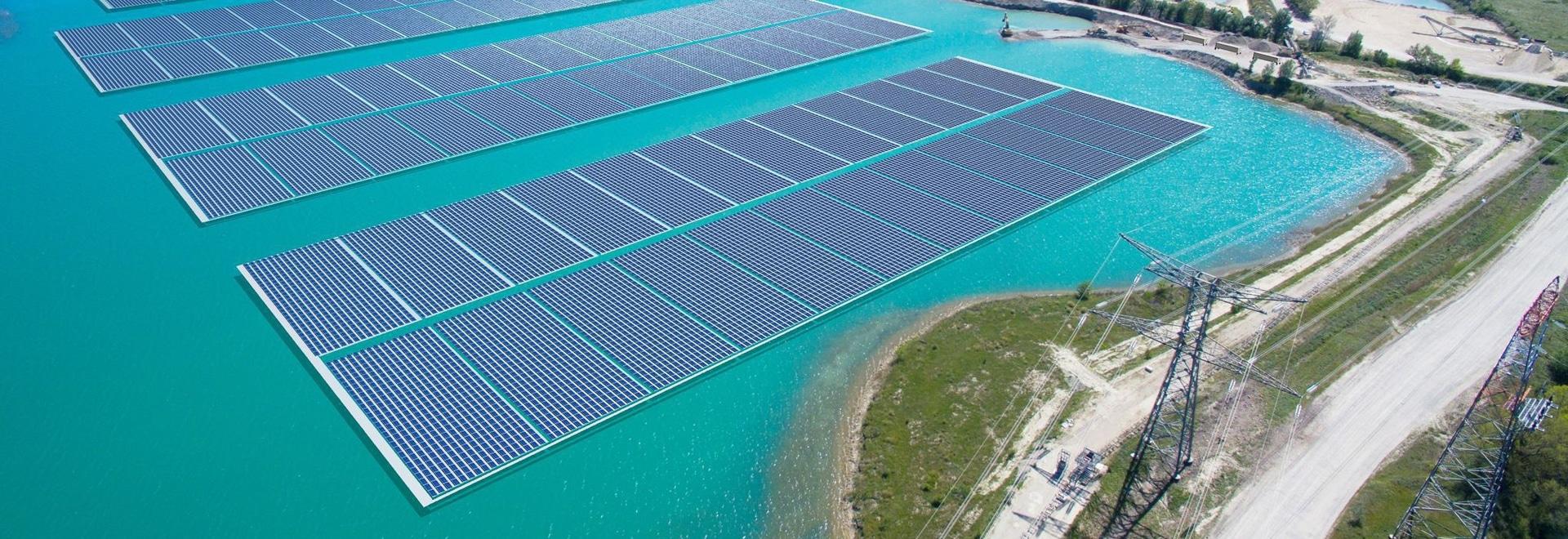 Akuo-Energie startet den Bau von 17 MW Solaranlage in Frankreich schwimmend